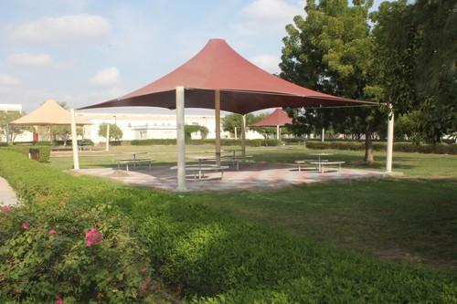 Pvc and frp gazebo tensile structure shade rs square feet