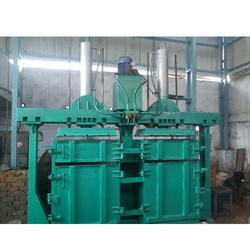 Double Box & Double Cylinder Baling Press for Corrugated Box