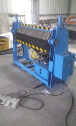 Semi-Automatic Metal Sheet Bending Machine
