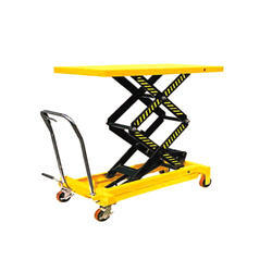 Die Loader Scissor Trolley