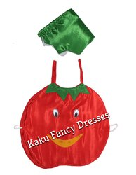 Kids Tomato Cutout Costume