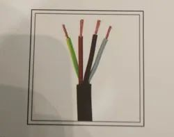 VOLTAIC BRAND Conductor Type: Armoured ROUND FLEXIBLE COPPER CABLE, Crossectional Size: 4 Sqmm, House Wiring