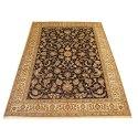 Rectangular Multicolor Decorative Silk Floor Carpet