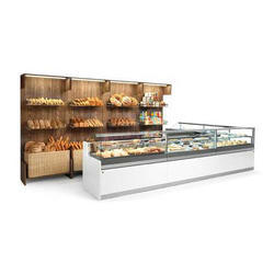 Stainless Steel Refrigerated Display Counter