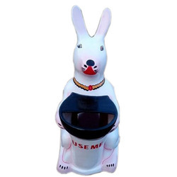 Rabbit FRP Dustbin