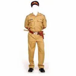 Unisex Cotton Police Uniform