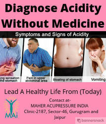 Acupressure Treatment For Acidity
