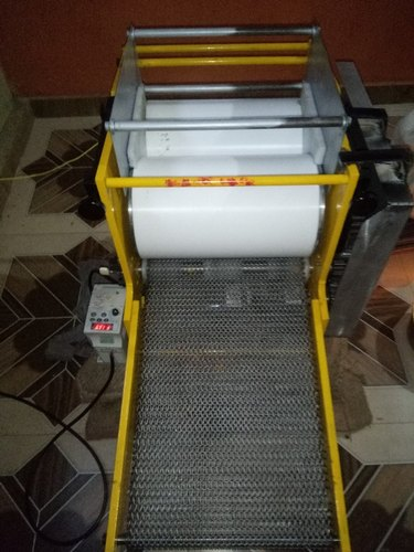 Chimon Foods Taflon Food Graded Material Rolling type Chapati Making Machine, Capacity: 1200