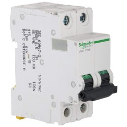 Schneider Acti 9 16-Amp 2-Pole MCB