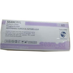 Seamcryl Polyglactin 910 Sutures without Needle