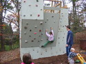 Outdoor Climbing Wall