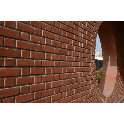 Red Wall Cladding Bricks