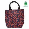 Rope Handle Jute Fashion Bag