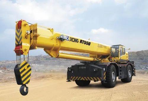 XCMG RT55U 50 ton Rough-Terrain Crane