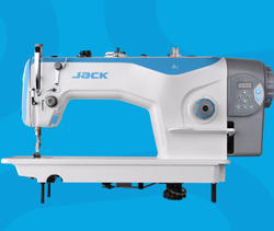 Jack Cast Iron A2S-CHZ-M Automatic Trimmer Lockstitch Machine, For Industrial, Automatic Grade: Semi-Automatic