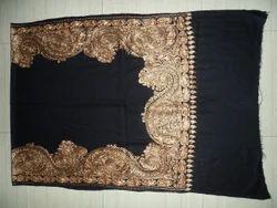 Black Printed Kashmiri Stoles, Packaging Type: Packet