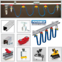 C Rail Track Festoon System