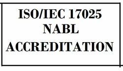 NABL Certification ISO 17025