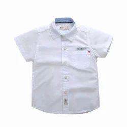White Children Casual Shirt