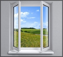 Residential White UPVC Windows