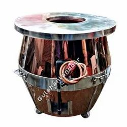 SS Top Brass Gas And Charcoal Tandoor 36X36