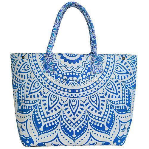 Cotton Mandala Printed Handbags