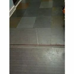 Grey Kota Stone Slab, Thickness: 10-15 mm, for Flooring