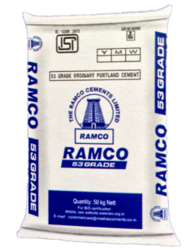 Ramco OPC 53 Cement, Grade: 53 Grade, Packing Size: 50 kg/ bag