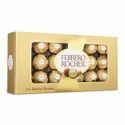 Metallic Chocolate Paper Box