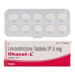 Okacet L 5 MG Tablet