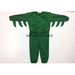 Green Costume For Vegetables