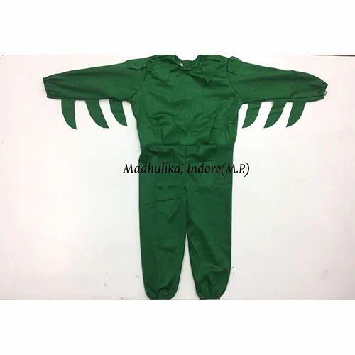 Green Costume For Vegetables
