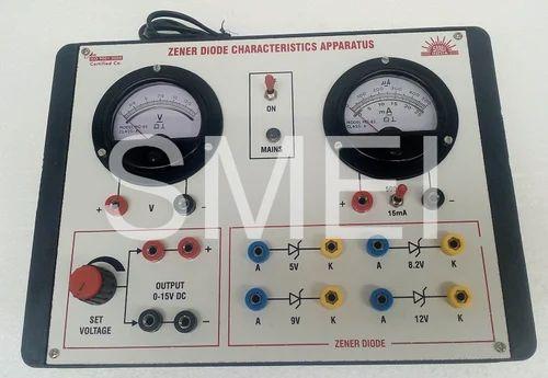 Zener Diode V I Characteristics Apparatus