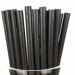 12mm Plain Paper Straw