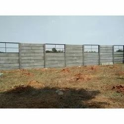 Concrete Panel Compound Wall