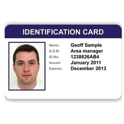 sample id cards
