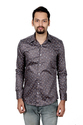 Vida Loca Men Satin Cotton Printed Shirt