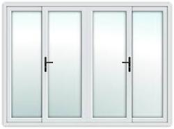 UPVC i-60 Series (2 Track 2 Panel Sliding Windows)