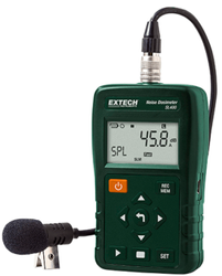 Extech Personal Noise Dosimeter with USB Interface, Accuracy: 1.4 dB, Model Name/Number: SL400