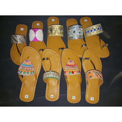 Traditional Colorful Kolapuri Chappals