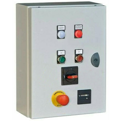 Mild Steel Single Phase Electric Distribution Panel, IP Rating: IP33