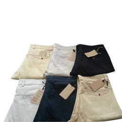 Plain Mens Cotton Trouser