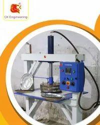 Hydraulic Paper Thali Machine