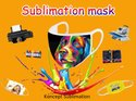 Sublimation Blank Face Mask