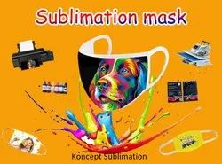 Sublimation Blank Face Mask