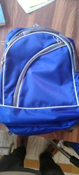 Polyester Plain School Bag