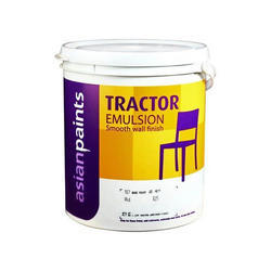 Asian Paints High Gloss Tractor Emulsion Smooth Wall Finish