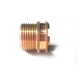 Round Brass Male Inserts, For Pipe Fitting