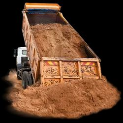 River Sand, Packaging Type: Truck