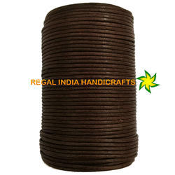 Brown Waxed Cotton Cord